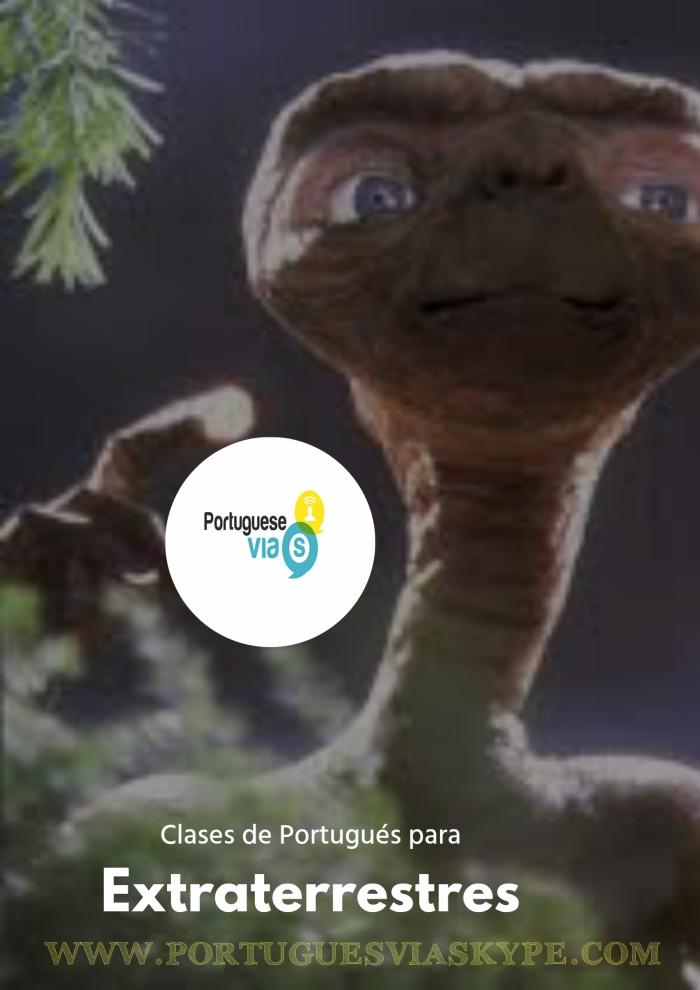 CLASES DE PORTUGUÉS PARA EXTRATERRESTRES I